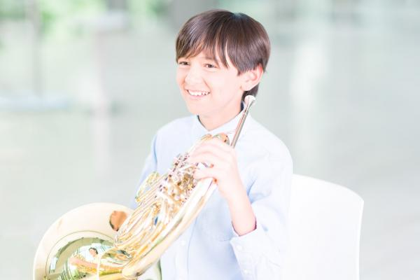 why-take-exam-boy-french-horn